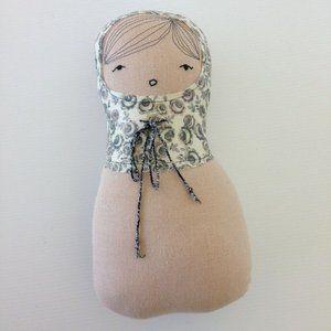 H Luv Handmade Cotton Matryoshka Girl Plush Toy